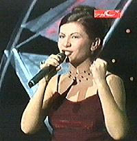 Feryal Basel in the 1999 Turkish Final